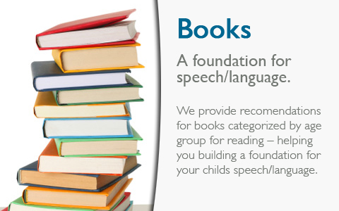 speech therapy book resources